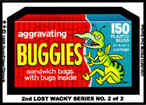 'Buggies' Lost Wacky